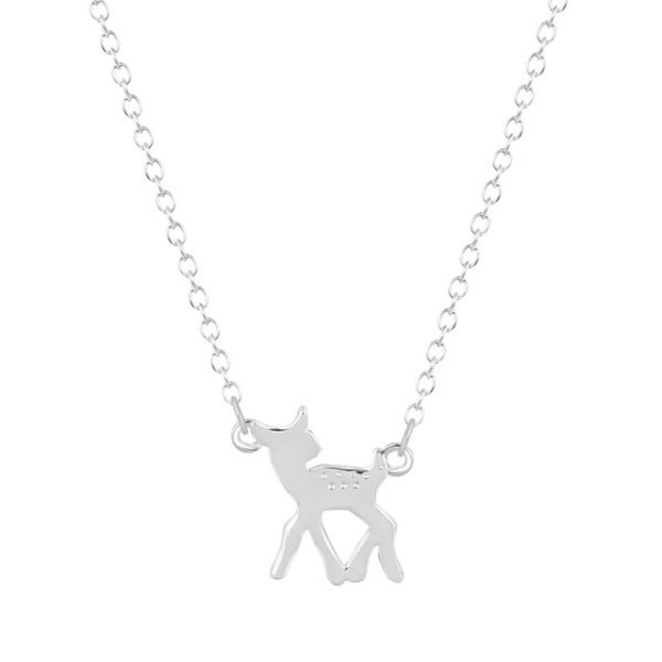 Collar Bambi plata