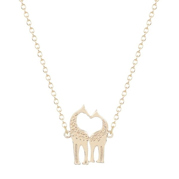 Collar jirafa oro