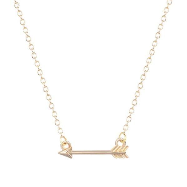 collar minimalista flecha