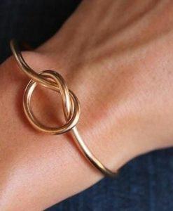pulsera nudo mujer