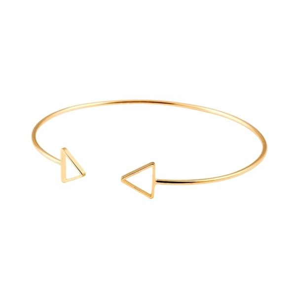 pulsera tendencia flecha oro