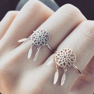 anillo tendencia mujer regalo