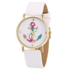 reloj ancla mujer