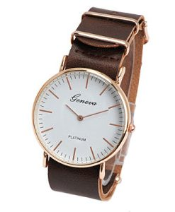 reloj mujer marron