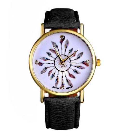 reloj tendencia negro mujer