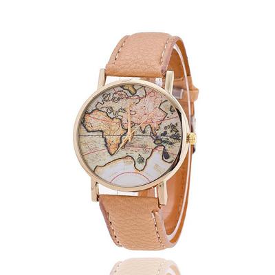 reloj mujer mapamundi