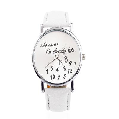 reloj blanco mujer