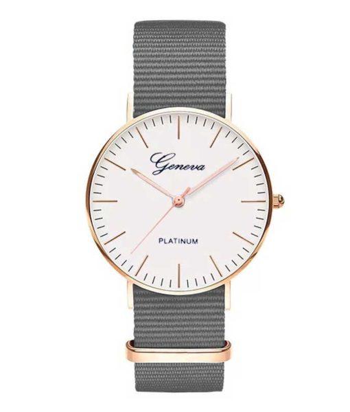 reloj mujer gris