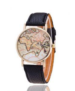 reloj mujer mapamundi original