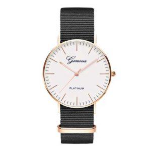 reloj tendencia negro