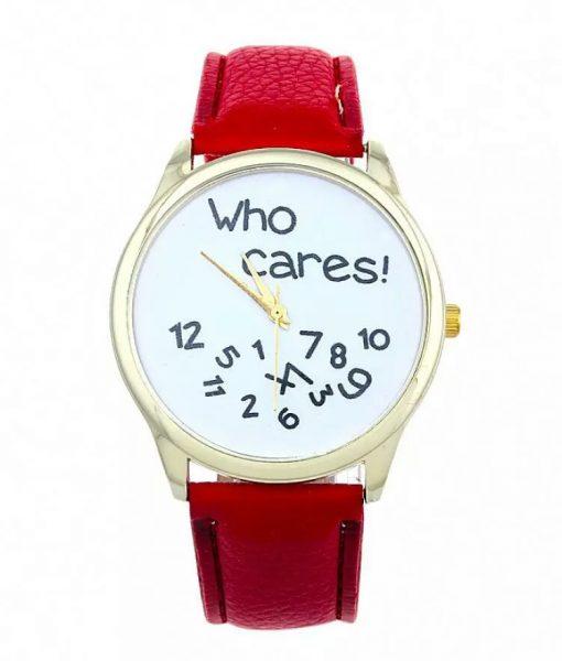 reloj original rojo