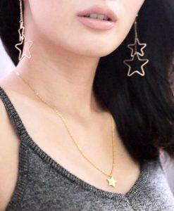 collar estrella mujer