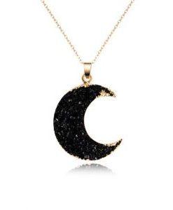 collar luna mujer