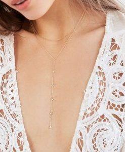 collar minimalista mujer