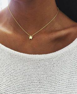 collar estrella regalo mujer