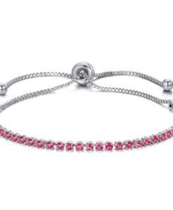 pulsera rosa regalo
