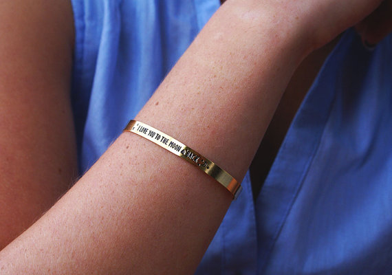 pulseras regalo mujer mensaje