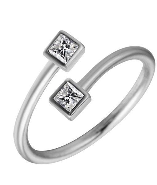 anillo midi circonita