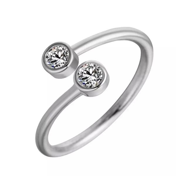 anillo minimalista plata
