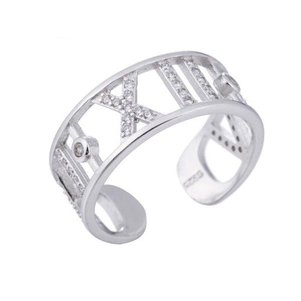 anillo numeros romanos