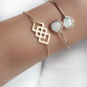pulsera dorada regalo