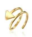 anillo flecha mujer