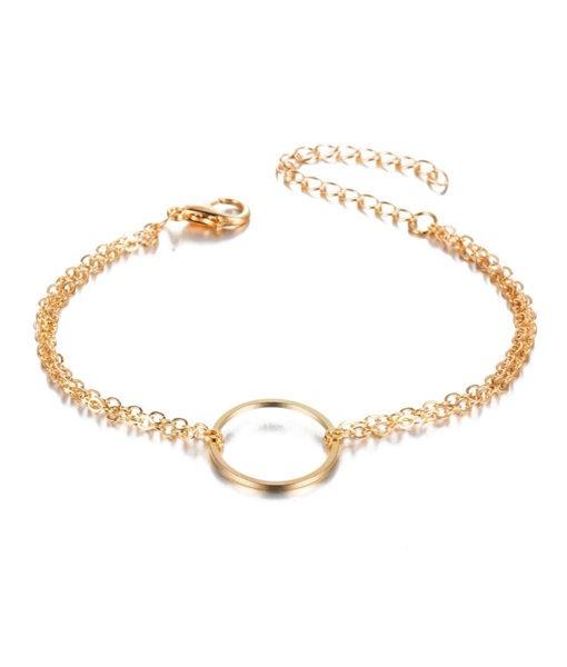 d27b13b65710 Pulsera Karma dorada - Pulseras de moda para mujer