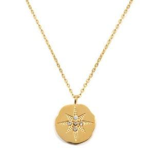 collar medalla swarovski
