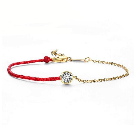 pulsera cordon rojo