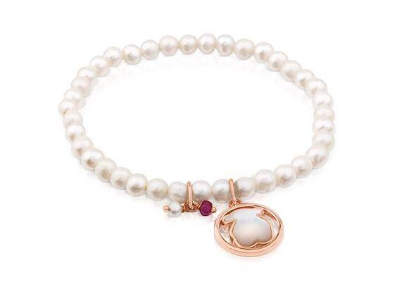 pulsera perlas tous regalo