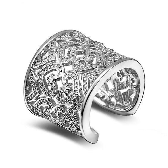anillo tendencia 2020 plata