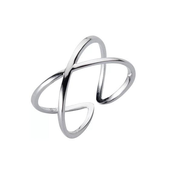 anillo cruz plata de ley 925