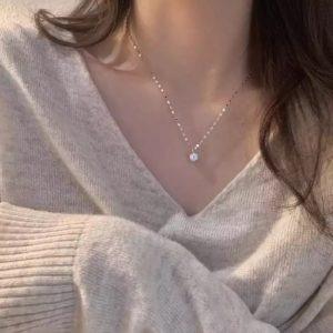 collar circonitas plata regalo mujer