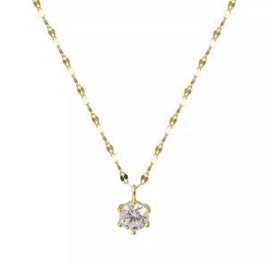collar colgante circonita regalo original