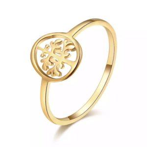 anillo arbol de la vida mujer