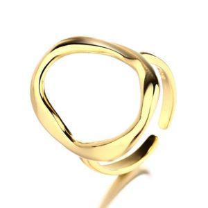 anillo circulo oro