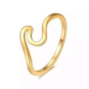 anillo ola mujer