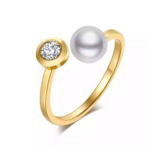 anillo de moda ajustable